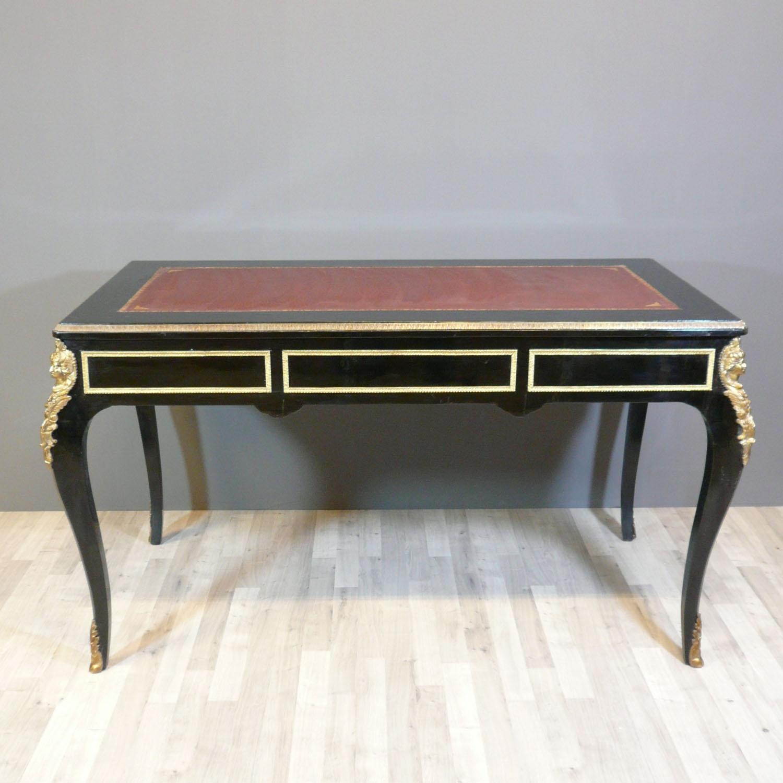 Bureau louis xv de style boulle meubles louis xv for Bureau style louis 13
