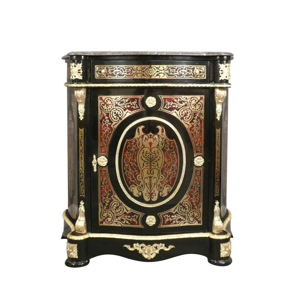 Napoleon Iii Style Buffet Boulle Tiffany Lamps Bronze
