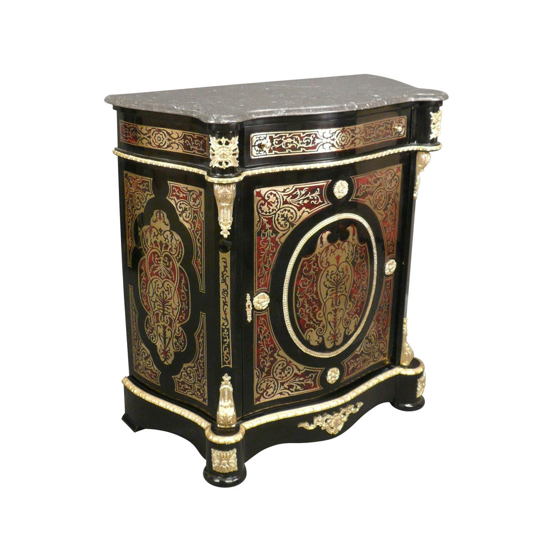 boulle meuble di stile del napoleon iii lampade tiffany. Black Bedroom Furniture Sets. Home Design Ideas