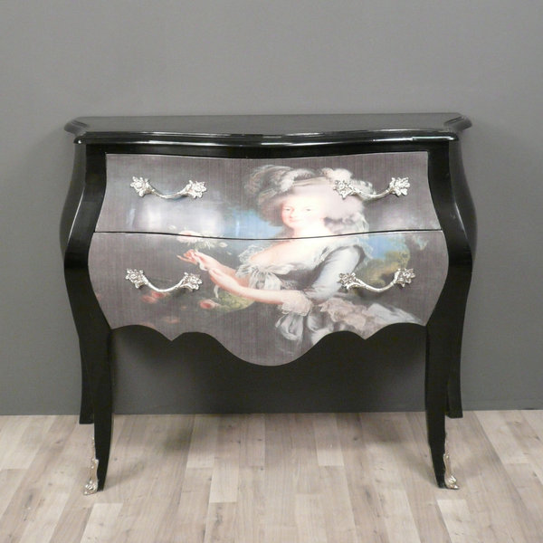 commode baroque de style louis xv commodes baroque. Black Bedroom Furniture Sets. Home Design Ideas