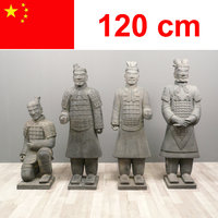 Statues of Chinese warriors Xian 120 cm