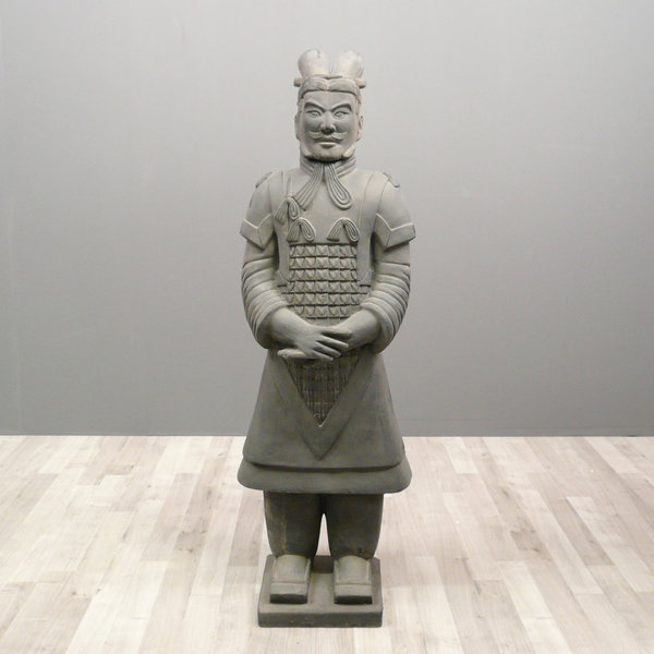 Chinese Warrior Statue General 100 Cm Xian Soldiers