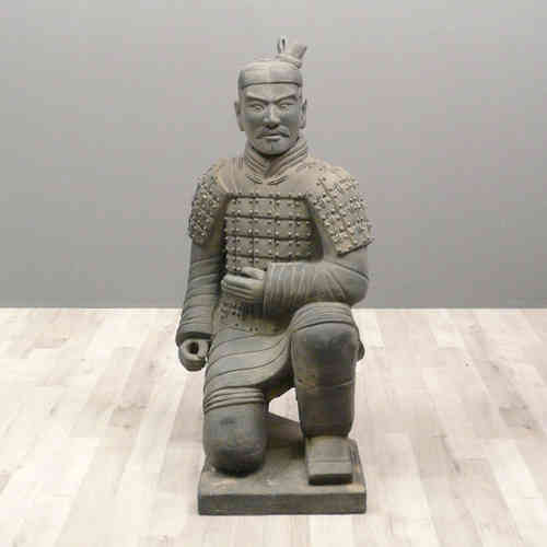 Statue guerrier Chinois Archer 100 cm