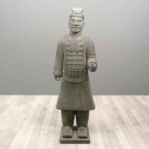 Chinese warrior statue 120 cm Officer