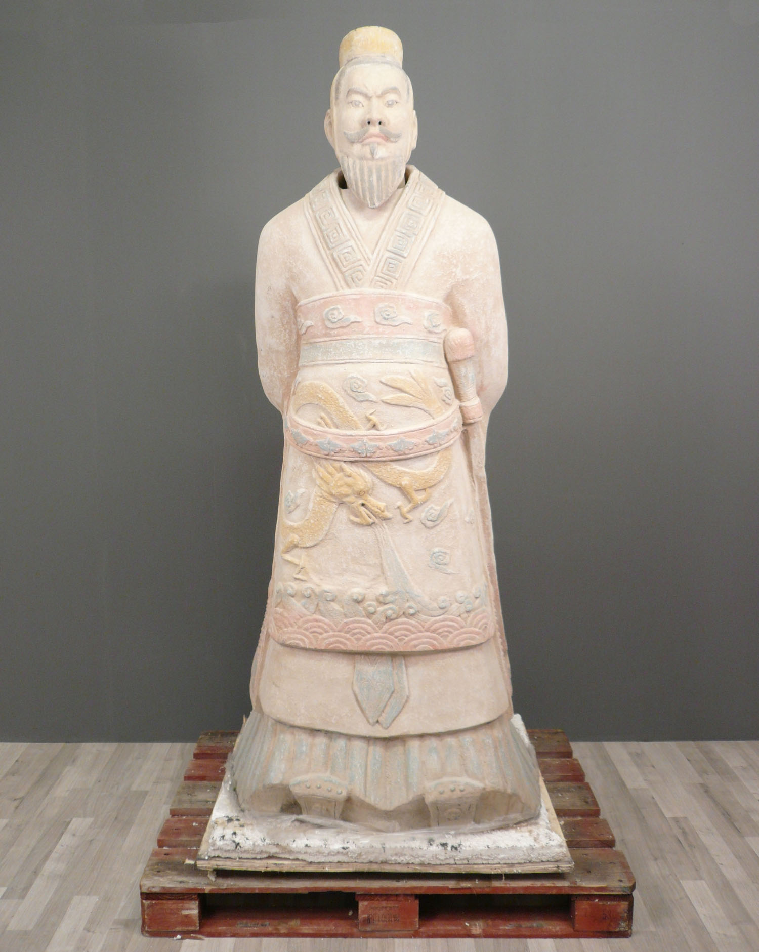 """qin shi huang Qin shi huang ( 秦始皇 """"first emperor of qin"""" 18 february 259 bc – 10 september 210 bc) was the founder of the qin dynasty and was the first emperor of a."""