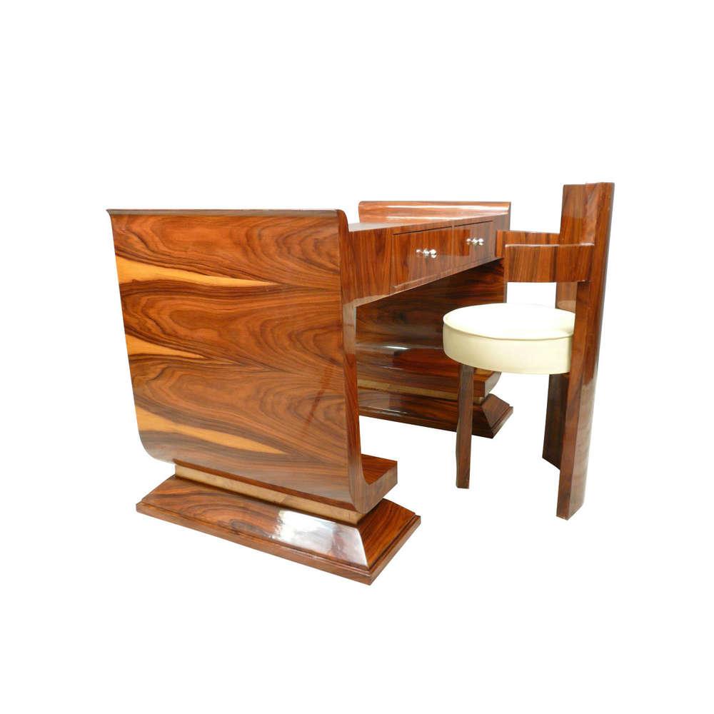 desk s desks antiques walnut photo writing table canonbury rosewood art furniture deco