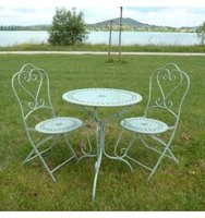Garden furniture in wrought Iron