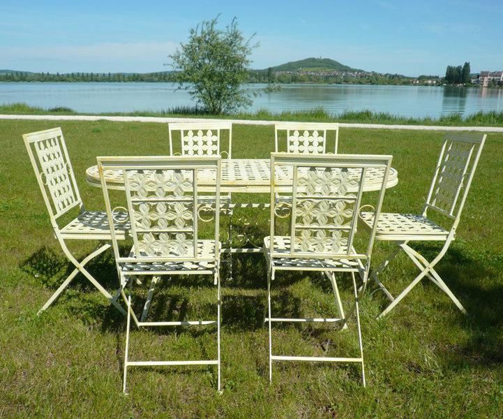 Sedie Da Giardino In Ferro : Mobili da giardino in ferro battuto tavoli sedie panchine