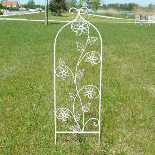 Wrought iron obelisk - Set of 2 pieces