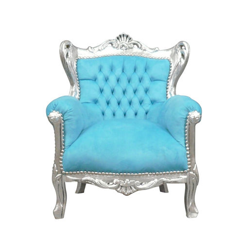 Baroque blue child chair
