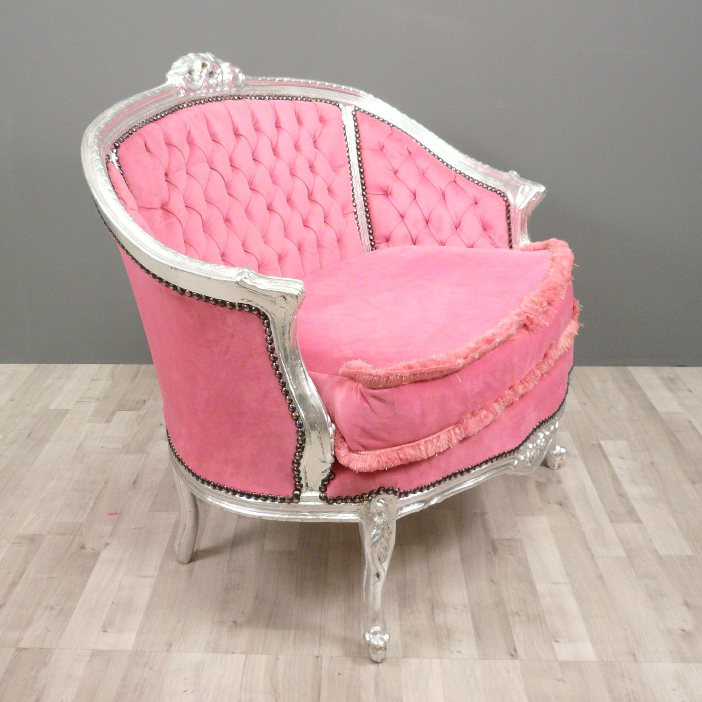 baroque sofa pink bronze statue. Black Bedroom Furniture Sets. Home Design Ideas