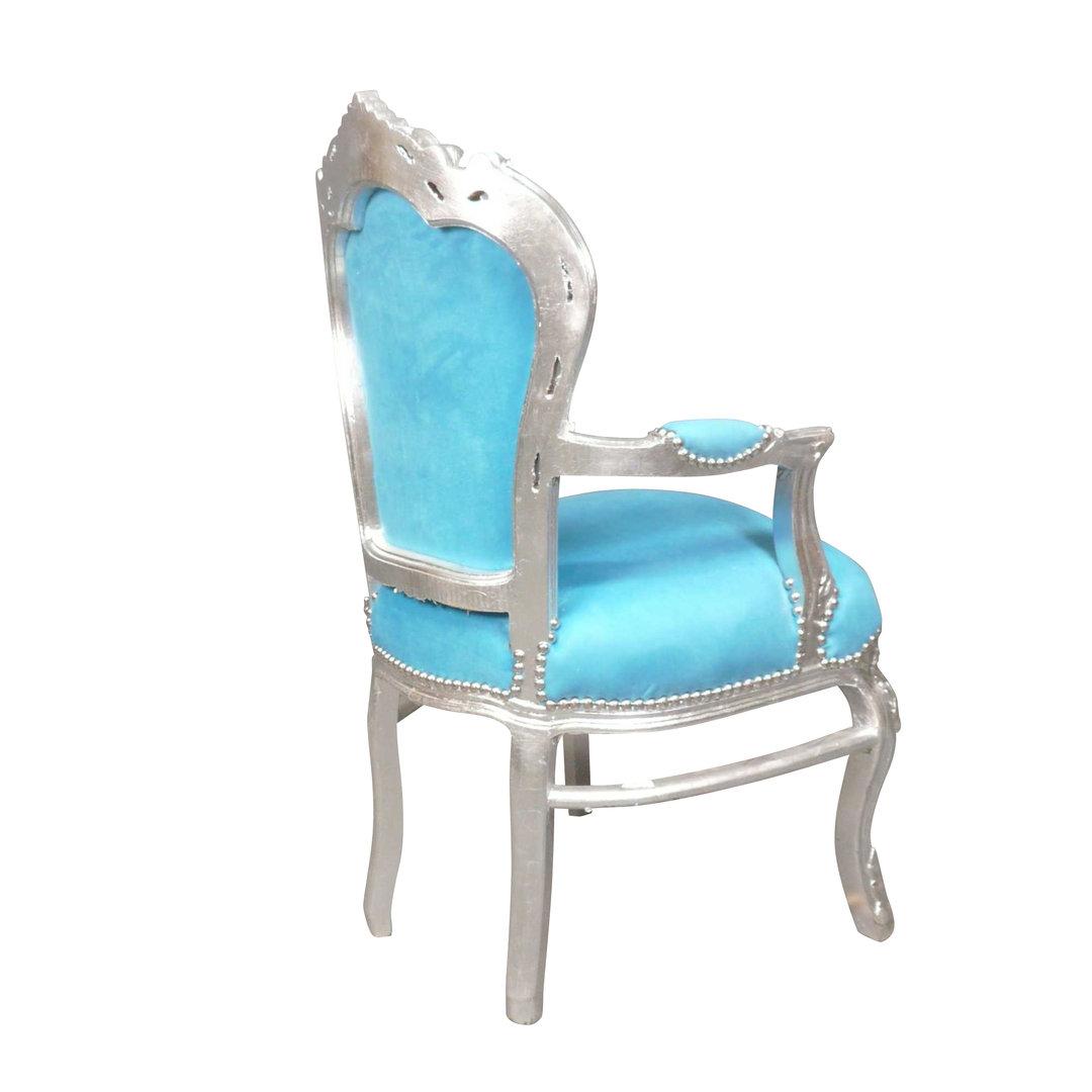 fauteuil baroque bleu ameublement baroque pas cher. Black Bedroom Furniture Sets. Home Design Ideas