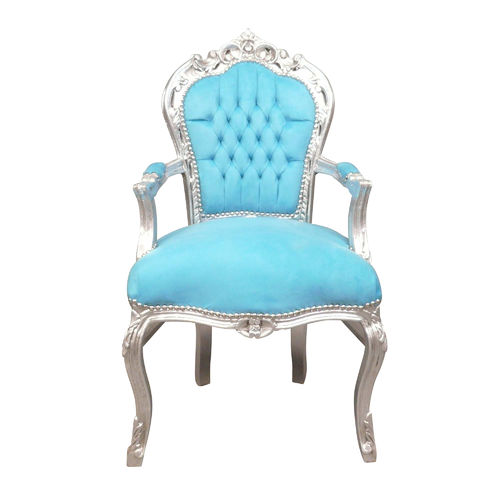 Baroque armchair blue