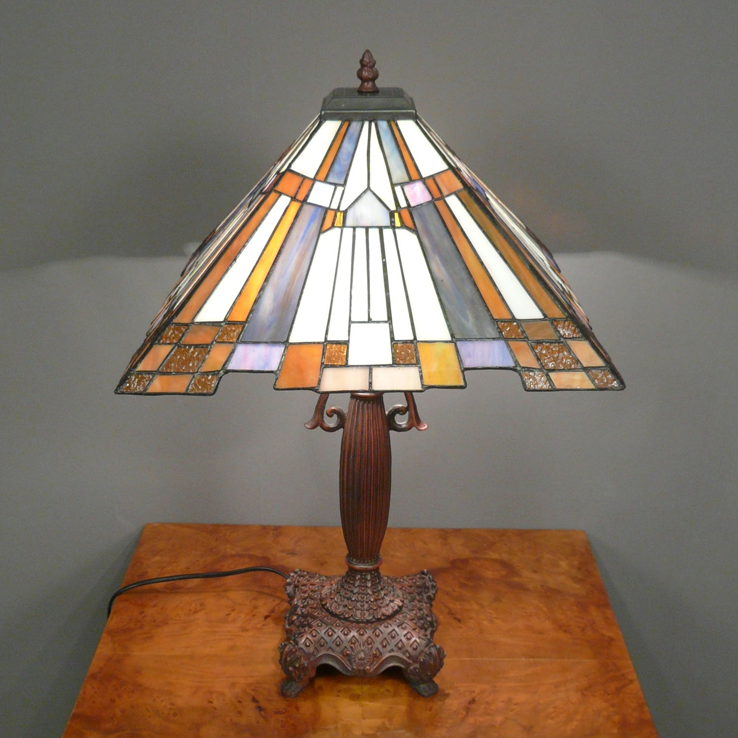 Tiffany lamp art deco lamps floor chandelier for Art decoration fr
