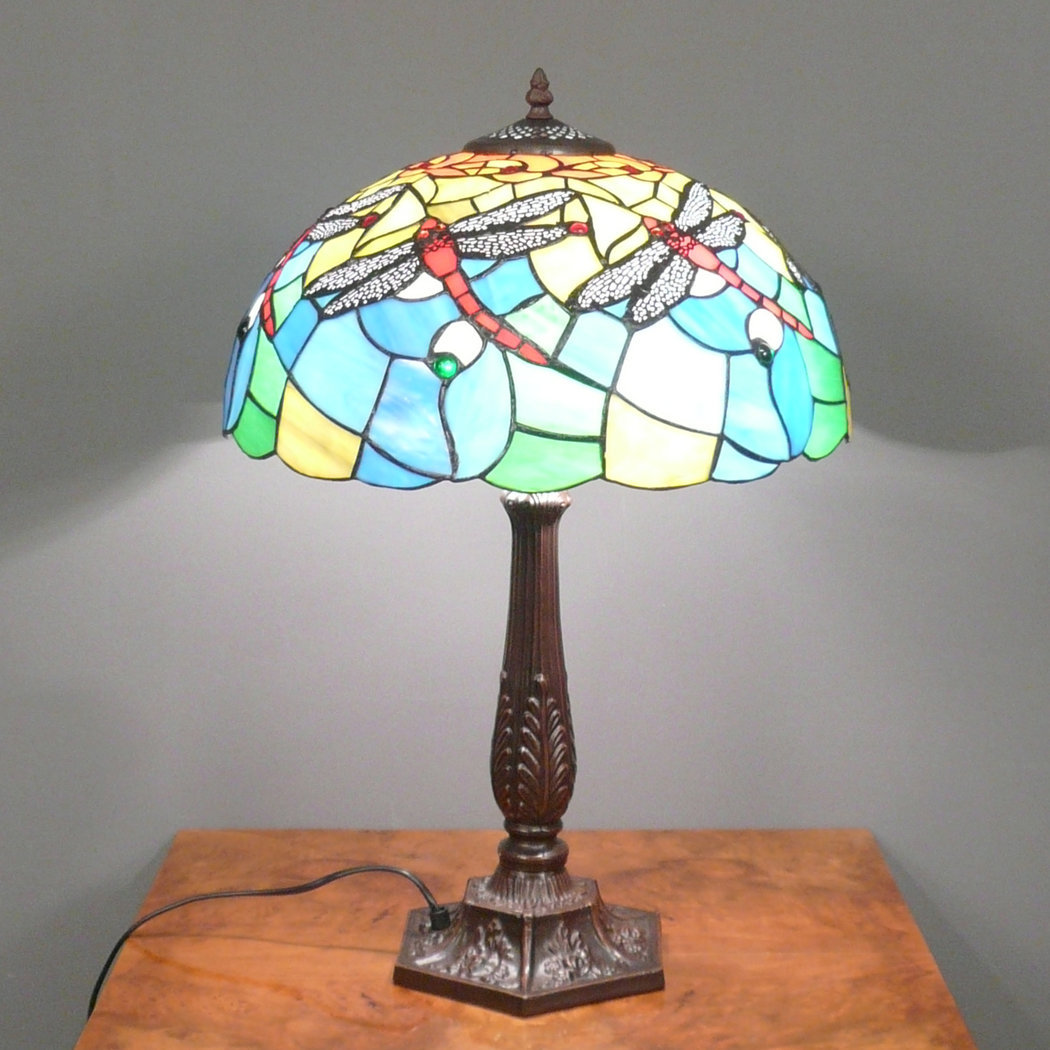Lighting Lamp: Tiffany Lamp Dragonfly