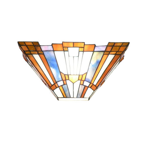 Tiffany-Wandleuchter-Art Deco