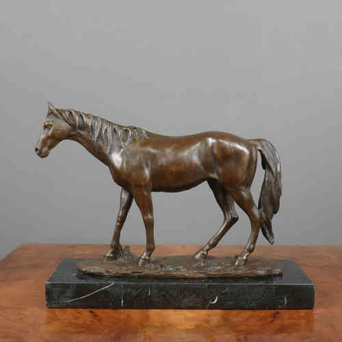 Cheval - Sculpture en bronze