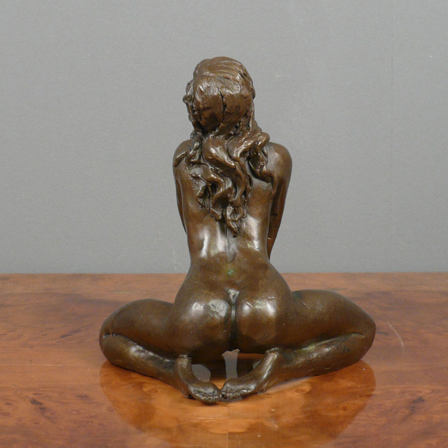 Bronze erotic sculpture