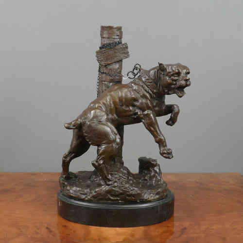 Bronze Sculpture - Bulldog