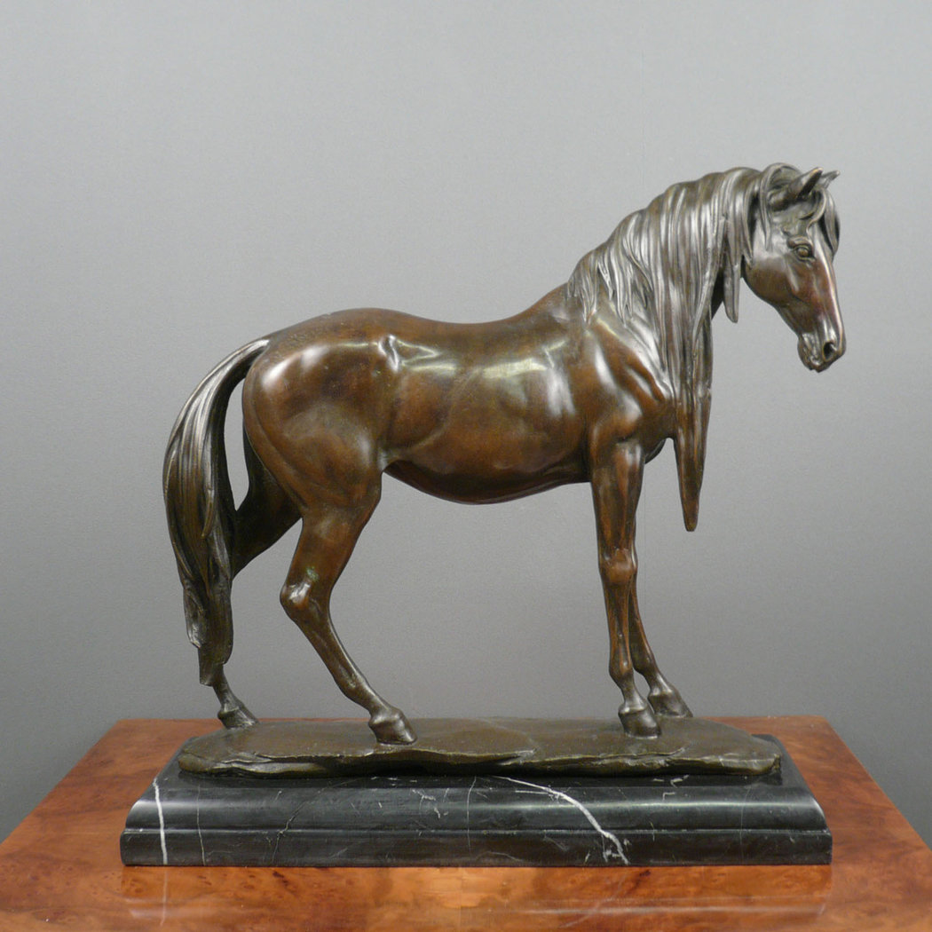 bronze statue horse bronze sculptures. Black Bedroom Furniture Sets. Home Design Ideas