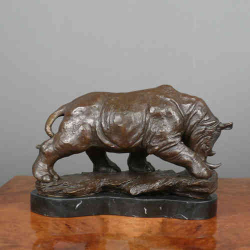 Bronze Sculpture - Rhinoceros