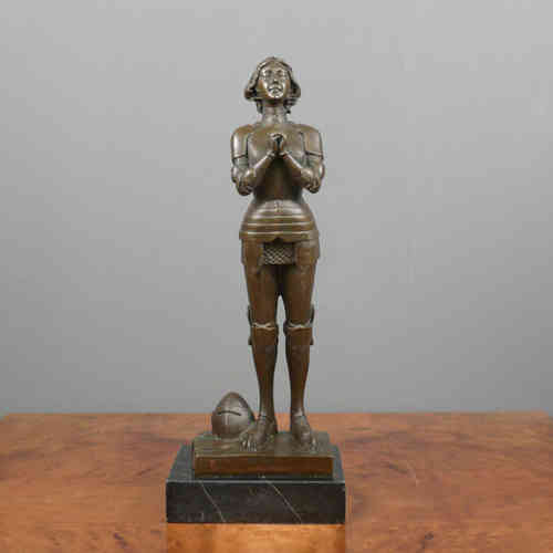 Bronze Sculpture - Joan of Arc