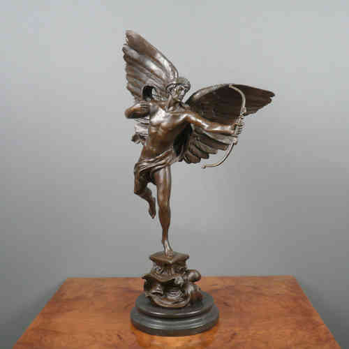 Sculpture en bronze - Archange