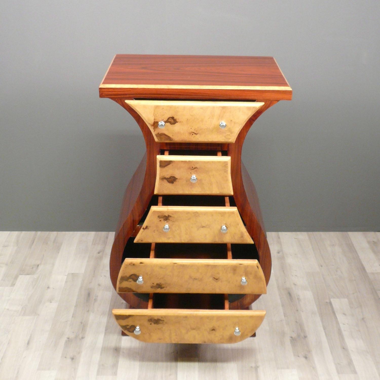 commode art d co en palissandre meubles art d co. Black Bedroom Furniture Sets. Home Design Ideas