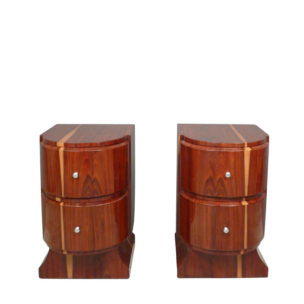 Coppia di comodini art deco mobili art deco - Deco mobili store ...