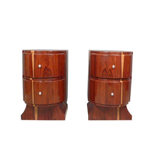 Pair of Art Deco bedside tables