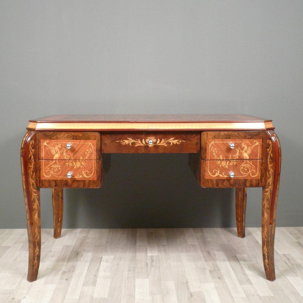 bureau de style art nouveau meubles art d co. Black Bedroom Furniture Sets. Home Design Ideas