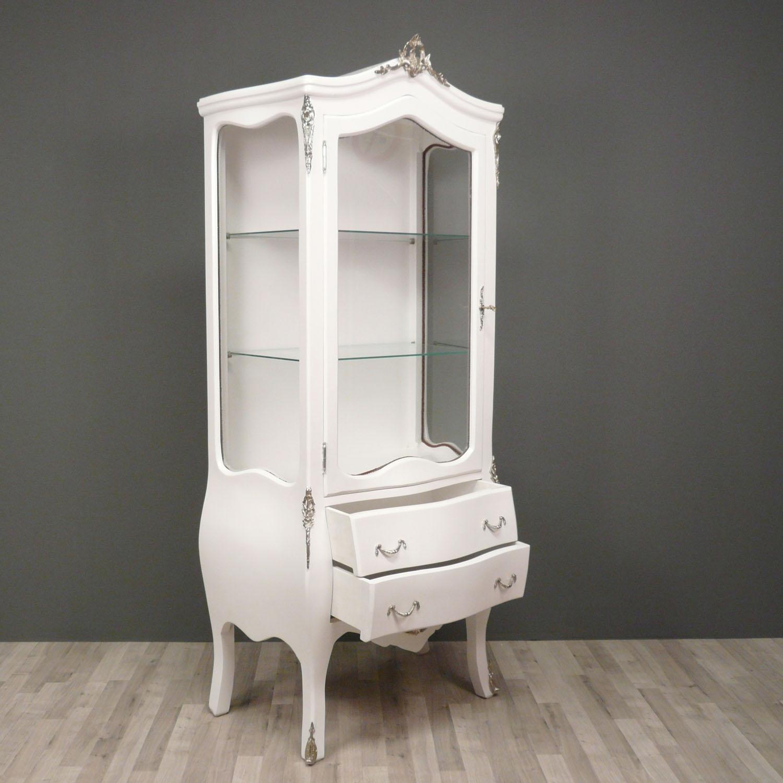 vitrine barock wei m bel st hle. Black Bedroom Furniture Sets. Home Design Ideas