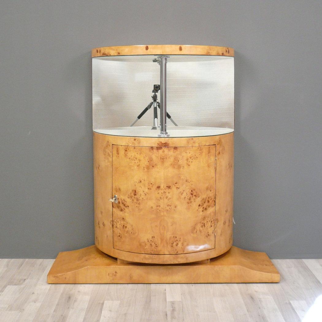 Bar art deco radica di olmo mobili art deco - Deco mobili store ...
