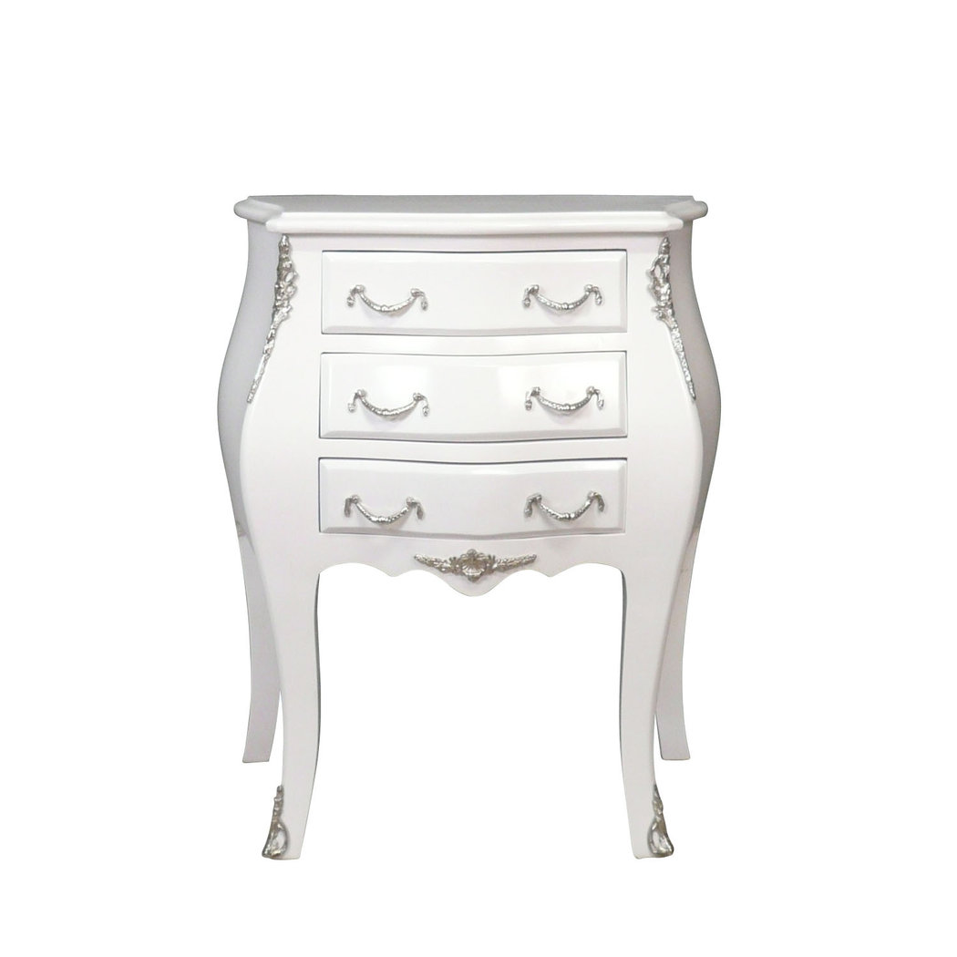 petie commode baroque blanche louis xv meuble baroque. Black Bedroom Furniture Sets. Home Design Ideas