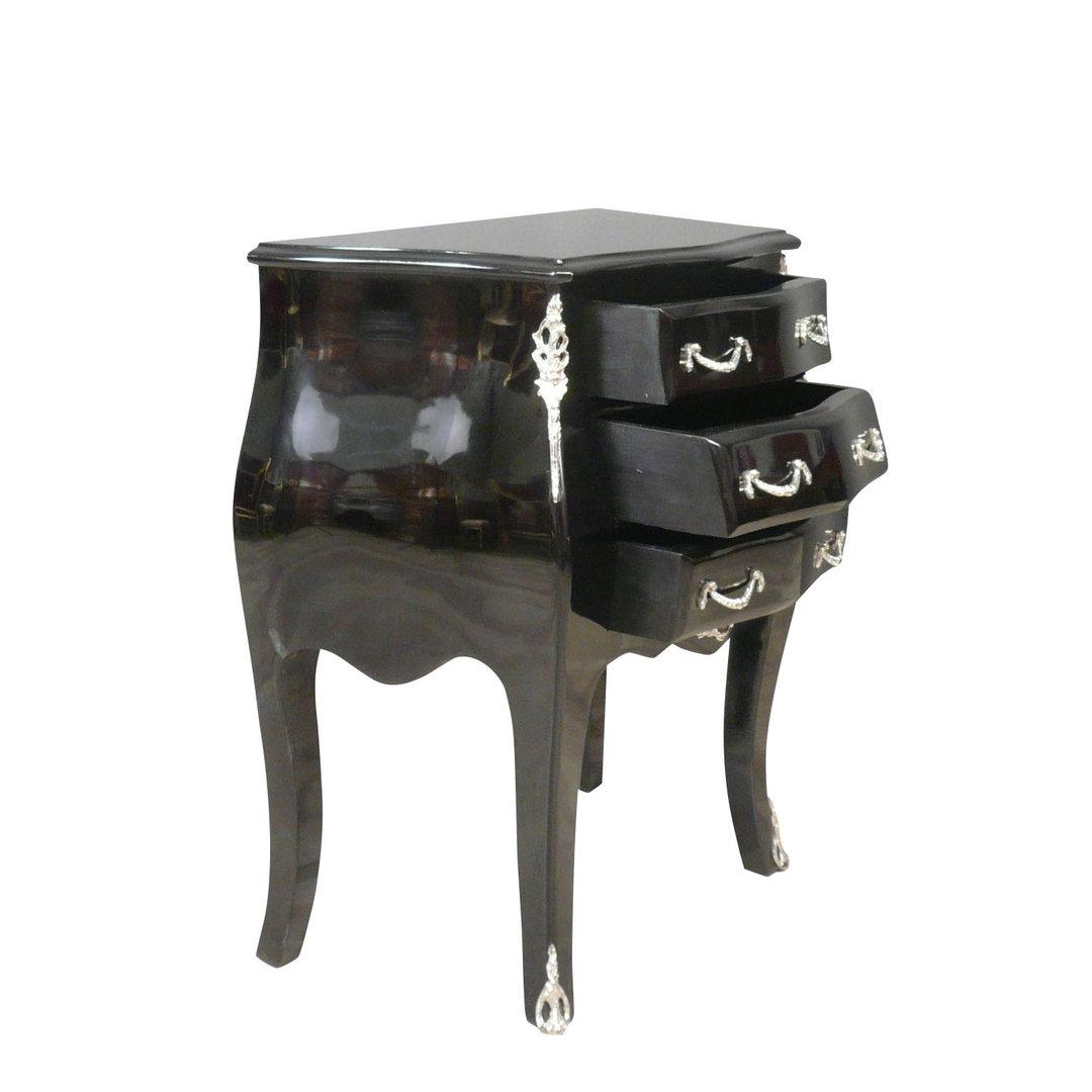 Kommode schwarz barock  Kommode schwarz Barock - Sessel