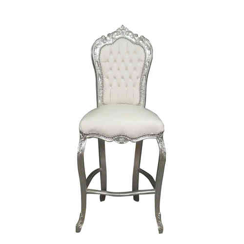 Bar chair baroque style of Louis XV