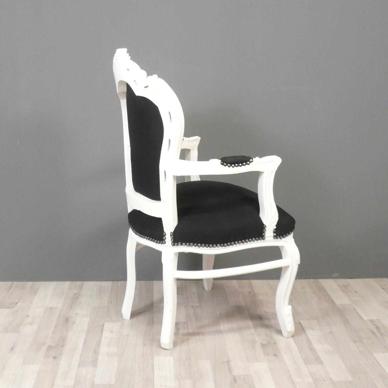 sessel barock schwarz und wei st hle. Black Bedroom Furniture Sets. Home Design Ideas