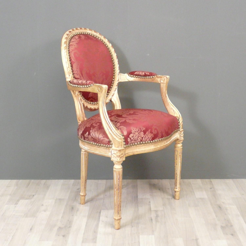 fauteuil louis xvi m daillon fauteuil louis xv chaise baroque. Black Bedroom Furniture Sets. Home Design Ideas