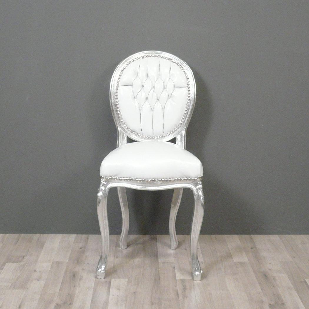 Petite chaise baroque style louis xv chaises baroques for Chaise de style baroque
