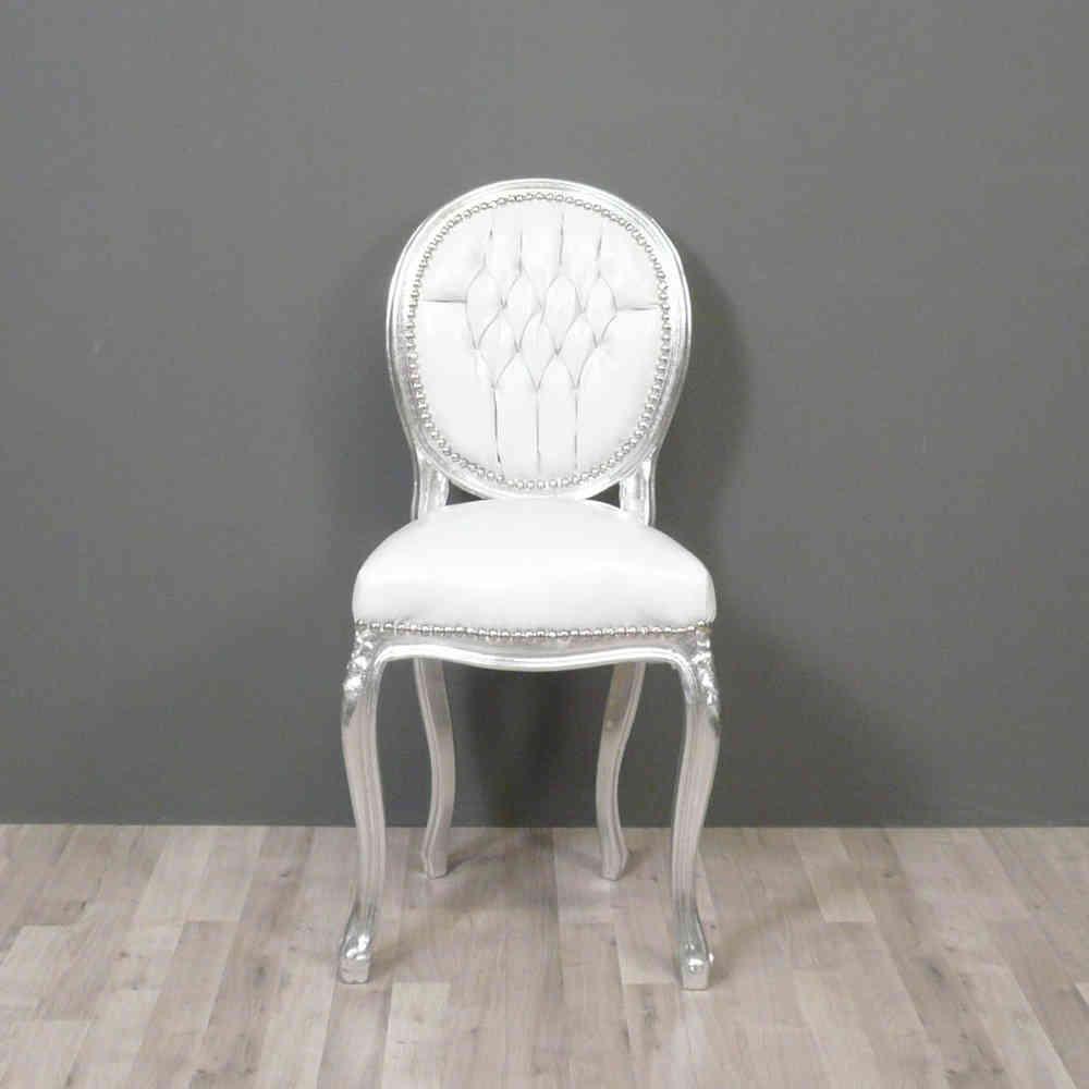 Petite Chaise Baroque Style Louis XV