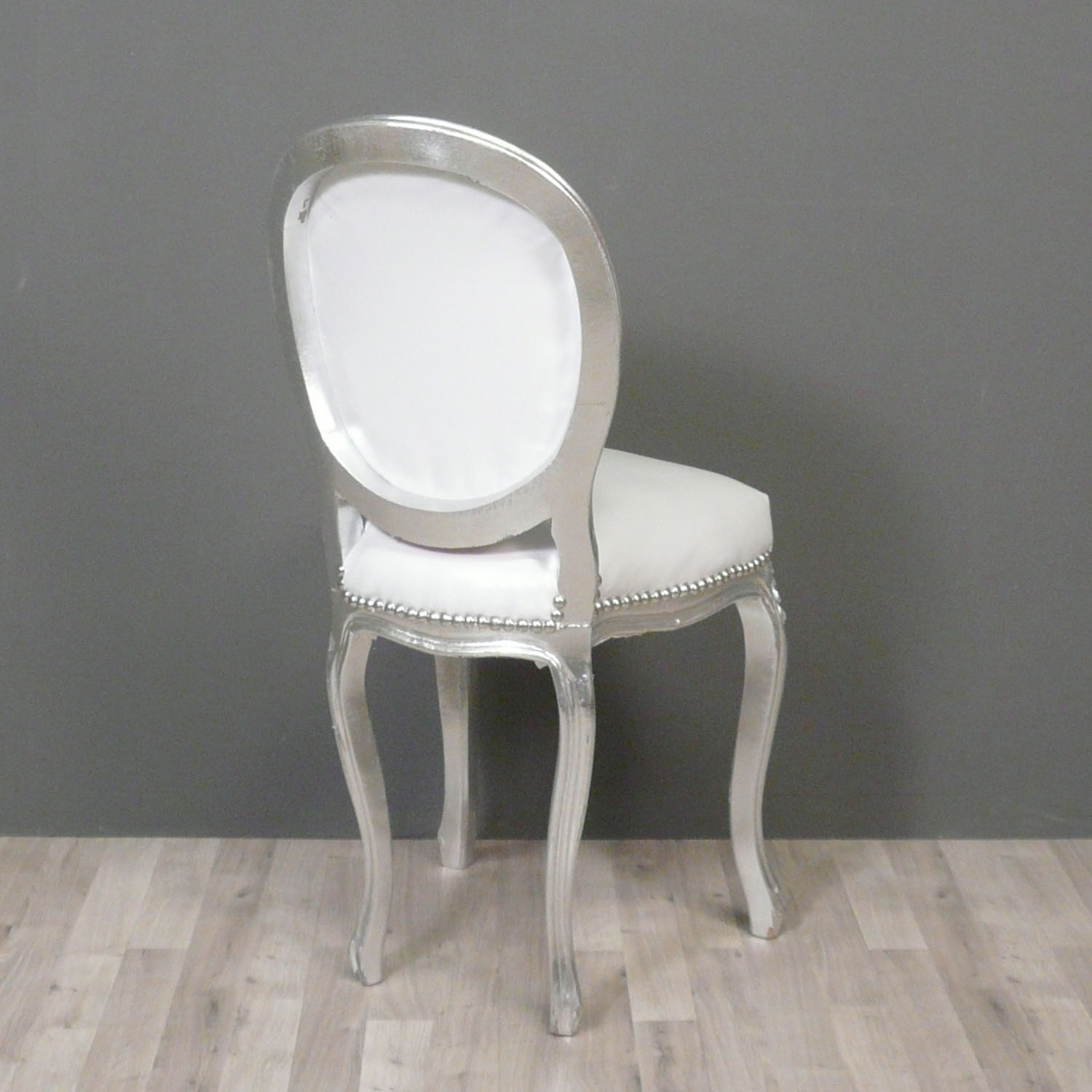 Petite chaise baroque style louis xv chaises baroques - Chaise baroque blanche ...