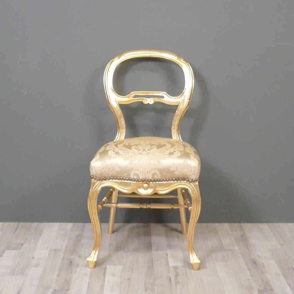 Sedia Luigi XV - Sedie barocco