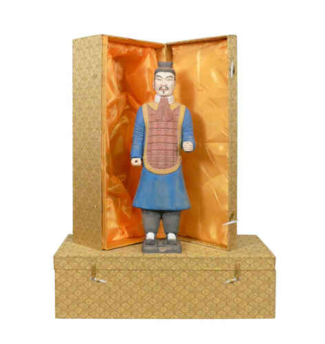 Officier  - Statuette Chinese soldier Xian Terracotta