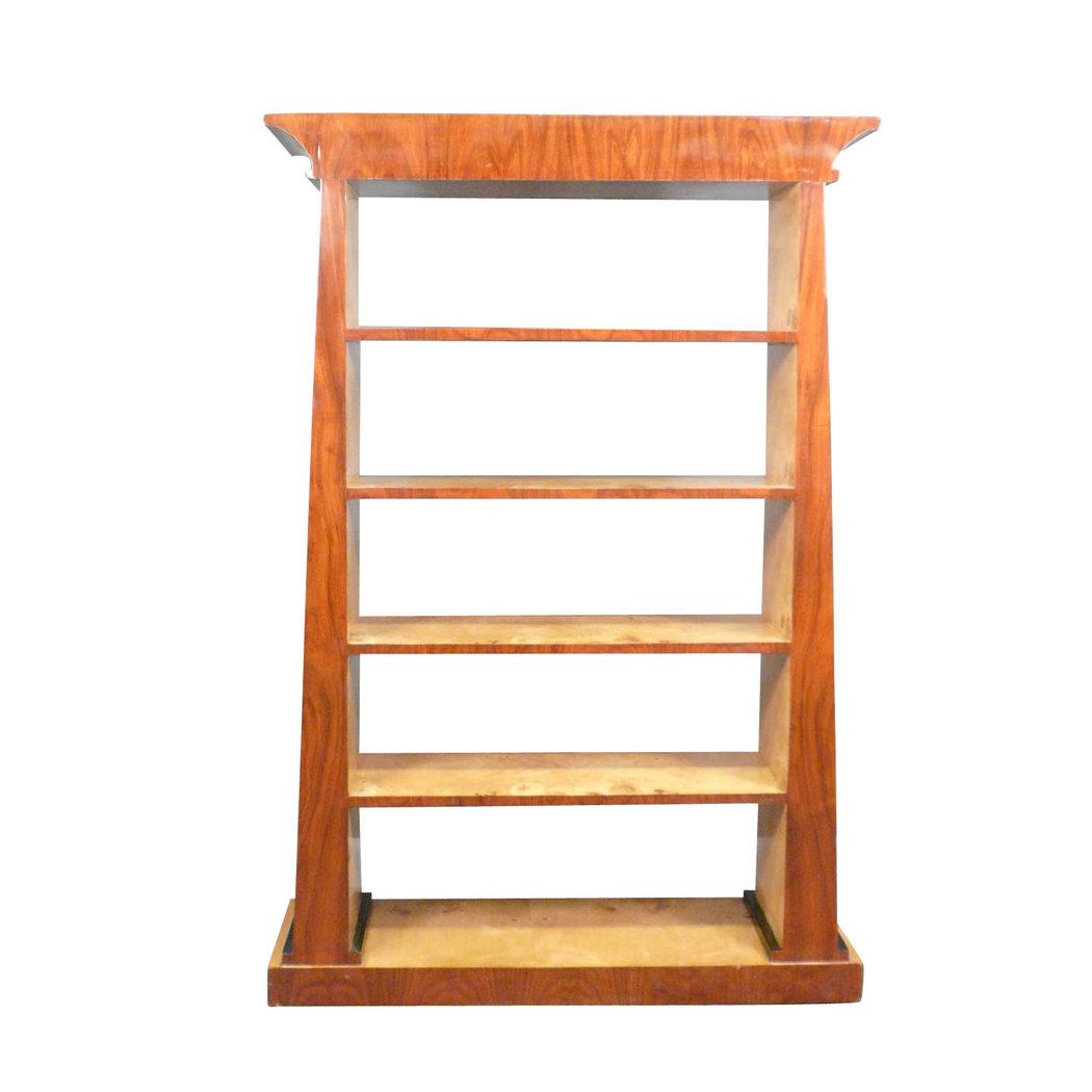 meuble art d co de biblioth que en palissandre etagere art d co. Black Bedroom Furniture Sets. Home Design Ideas