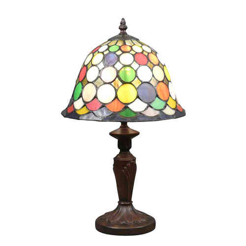 Harlequin Tiffany lamp