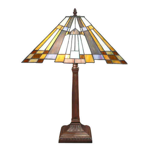 Lampe Tiffany art déco