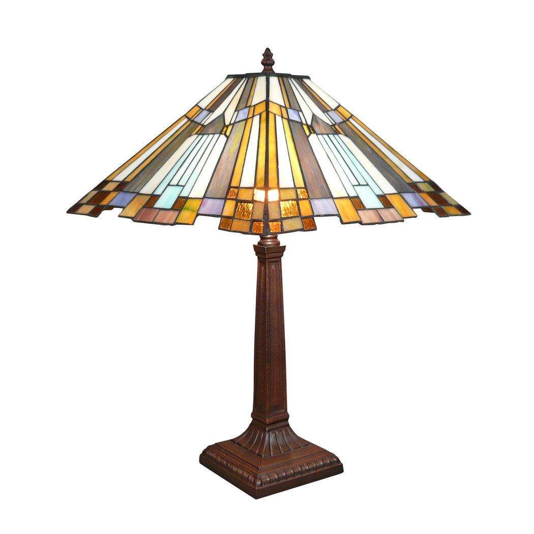 Lampe tiffany art d co lustres lampadaires design for Art deco lampe