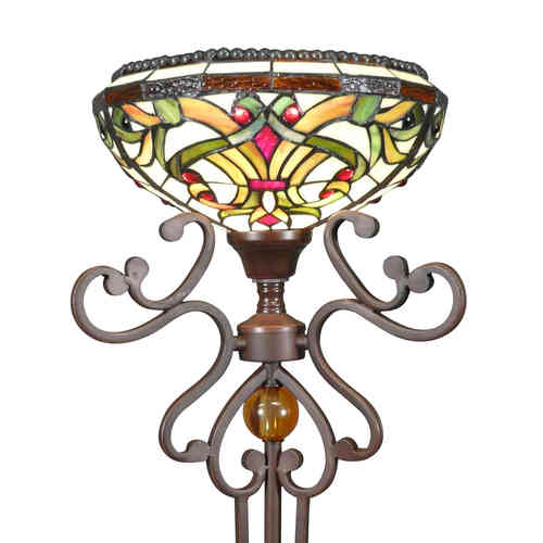 Tiffany Floor Lamp Indiana