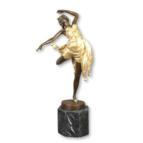 Dancer - Bronze statue art deco