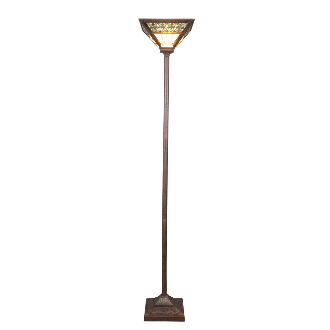 Tiffany Art Deco Floor Lamp Tiffany Lamps Bronze